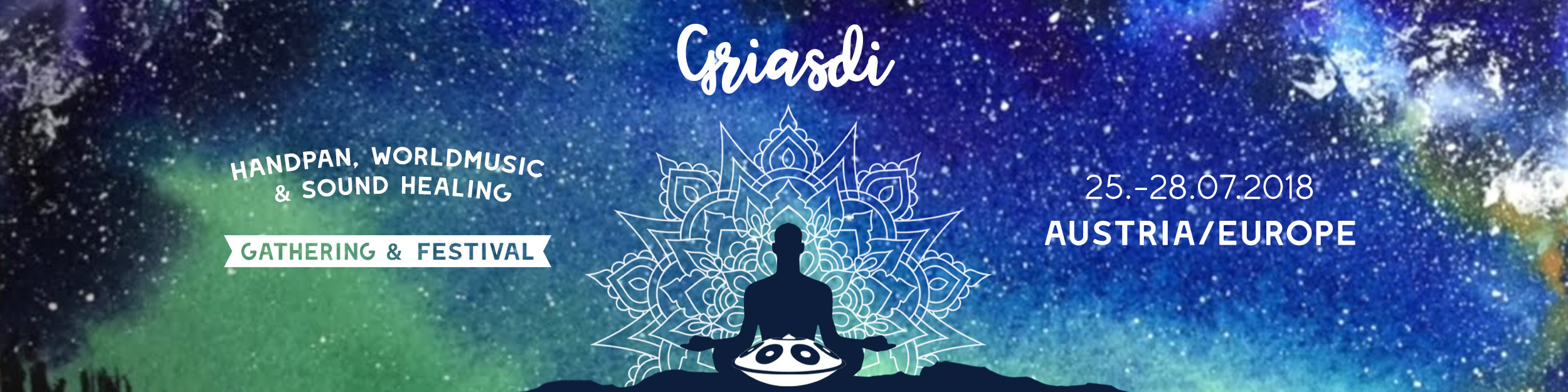 GRIASDI – Handpan, World Musik & Sound Healing Gathering and Festival